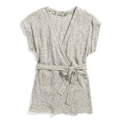Stitch Fix Stylist - This sweater is adorable, could even wear a long sleeve shirt underneath with jeans, perhaps?