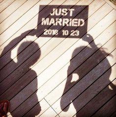 いいね!1,093件、コメント4件 ― プレ花嫁の結婚式準備アプリ♡ -ウェディングニュース-さん(@weddingnews_editor)のInstagramアカウント: 「* * * このアイディア、とっても面白い😍💕 * * 影を利用したウェディングフォト⭐️✨ * * * こちらのお写真は #プレ花嫁 @koro_wedding2016…」