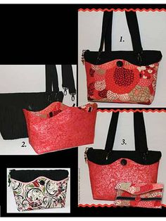 This reversible purse can be made to go with any outfit for any occasion.