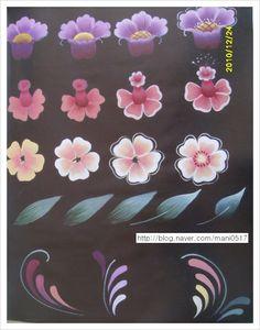 .floral worksheet.
