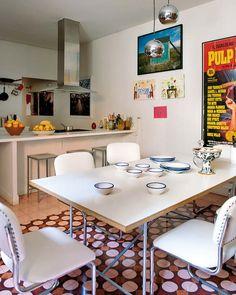 Un piso vintage en Madrid para vivir y trabajar   Etxekodeco