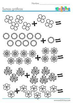 1st Grade Worksheets, Kindergarten Math Worksheets, Worksheets For Kids, Preschool Activities, Maths, Teaching Second Grade, 1st Grade Math, Numbers Preschool, Math Numbers