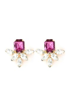 Deco Aife Earrings in Soft Amethyst