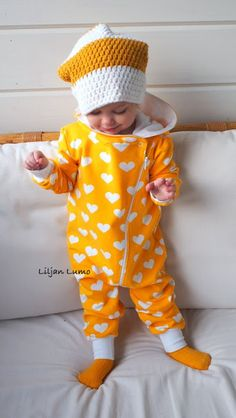Liljan Lumo: Hiiop ja Hupsis! Kids Outfits, Sewing, Children, Clothes, Women, Tall Clothing, Boys, Couture, Fabric Sewing