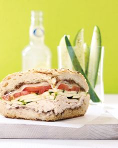 Pesto Turkey Sandwich Recipe