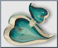 Image detail for -Teal Puff Heart Perfume Vial by Jesus Garcia