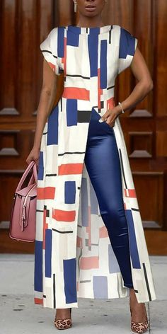 African Wear, African Attire, African Dress, African Print Jumpsuit, African Style, African Women, Mode Outfits, Stylish Outfits, Fashion Outfits