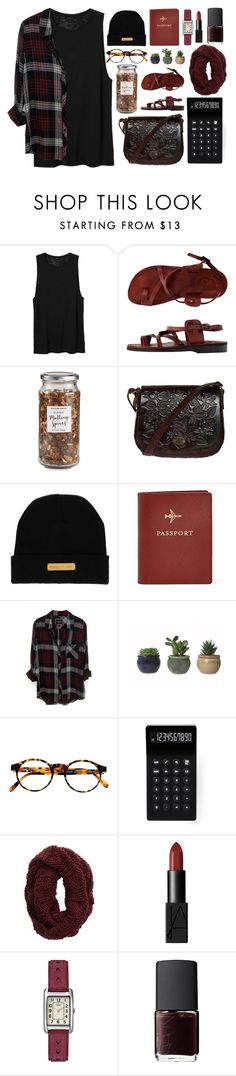 """""""keep forgetting to remember"""" by xoxoaudreyxoxo ❤ liked on Polyvore featuring Monki, American Apparel, Williams-Sonoma, Marie Marot, FOSSIL, Rails, François Pinton, LEXON, Aerie and NARS Cosmetics"""