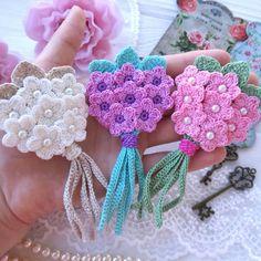 Watch The Video Splendid Crochet a Puff Flower Ideas. Wonderful Crochet a Puff Flower Ideas. Bouquet Crochet, Crochet Puff Flower, Crochet Flower Patterns, Crochet Flowers, Pattern Flower, Crochet Leaves, Paisley Pattern, Crochet Motifs, Crochet Stitches