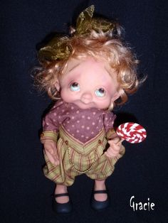 denise bledsoe art doll images | Another weird doll with my name...Gracie by ... | Dolls & Doll Art