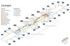 Emirates Terminal 3 Arrivals Map dubai airport map Pinterest