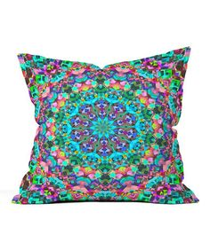 Loving this Lisa Argyropoulos Inspire Oceana Throw Pillow on #zulily! #zulilyfinds