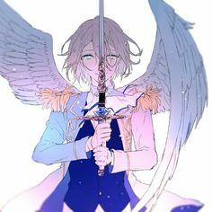 Crying angel Sword