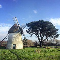 Tacumshane windmill, Co Wexford. Built in 1846, it is one of the last remaining Irish windmills #IrishArchaeology #loves_ireland #wanderlust #discoverireland #wexford #icu_ireland