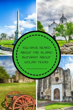 You have probably heard about The Alamo in San Antonio Texas but what about Goliad Texas? This historic place played a big role in Texas Independence. Slow Travel, Travel Usa, Family Travel, Places To Travel, Travel Destinations, Travel Guides, Travel Tips, San Antonio River, Goliad Texas