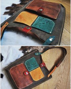 Планшетка с цветными кармашками. #Кожаная_женская_сумка #Кожаная_женская_сумка #женские_дизайнерские_сумки #необычные_сумки #авторские_сумки #сумки_ручной_работы #handmade_bags #woman_leather_bags #burtsevbags