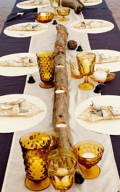 #DIY How To: Easy Driftwood Tea Light Holders : DIY Wood Crafts Recycle