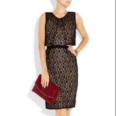 MARC BY MARC JACOBS Dahlia lace and jersey dress