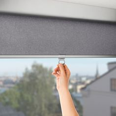 IKEA TRETUR block-out roller blind The blind is cordless for increased child safety. Blackout Shades, Blackout Blinds, Blackout Windows, Roller Shades, Roller Blinds, Ikea Canada, Cellular Blinds, Ceiling Materials, Windows