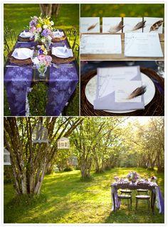 Vintage Woodland Wedding | Vanessa Voth