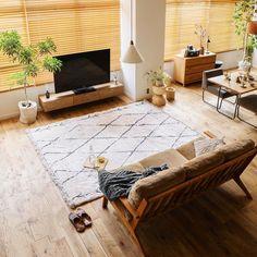 ラグマット BIANCA DIA|家具・インテリア通販 Re:CENO(リセノ)本店 California Living, Home Pictures, Minimalism, Pure Products, Living Room, Table, Furniture, Design, Home Decor