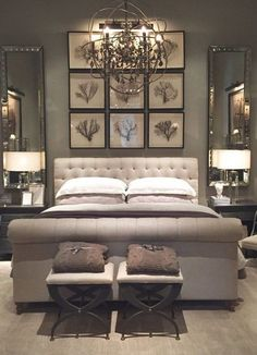 The Master Bedroom Painting. 20 the Master Bedroom Painting. Our Freshly Painted Master Bedroom with Contrast Trim Beautiful Bedrooms, Sanctuary Bedroom, Home, Home Bedroom, Luxurious Bedrooms, Bedroom Inspirations, Small Bedroom, Interior Design, Luxury Bedroom Master