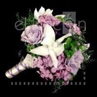 Bouquet Rosas, Orquídeas y Hortencias #bouquet #ramo #rosas #bride #novia #boda