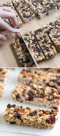 How to Make Soft and Chewy Granola Bars that are simple to make and completely flexible. Add what we love or change the recipe up based on what you like! From http://inspiredtaste.net