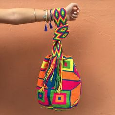 """Rio"" Hand Woven Mochila Bag Company Ideas, Designer Bags, Cloth Bags, Tote Purse, Baggage, Hand Bags, Evening Bags, Fashion Bags, Me Too Shoes"
