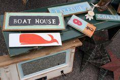 cute signs! #nautical #decor #boathouse