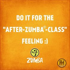 Zumba class is cancelled (crying)... or my instructor is ...