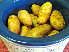 Tip Saving Tip...Crock Pot Baked Potatoes by O  Taste and See