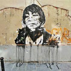 Eddie Colla - street art paris 2 - rue damiette juin 2015
