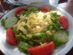 Cheese salad #Croatia