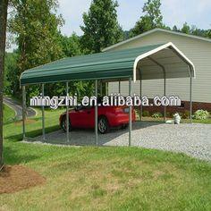 Single carport gable roof 3m x 6m colorbond cheap sheds for Inexpensive carport ideas