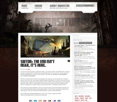 Web page + forum i made for myself and my friends in Wordpress. D3 incoming soon ;)