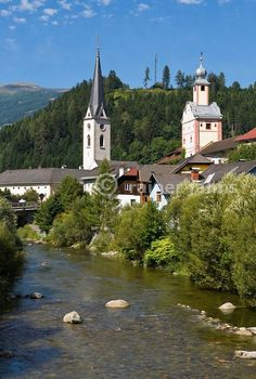 Austria, Carinthia, artist town Gmuend at Lieser Valley: river Malta by © Rainer Jahns