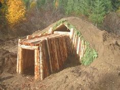 Long Term Survival - The Earth Sheltered Dwelling. An honorable mention for underground housing