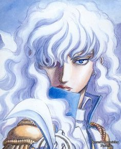 Griffith from Bersek, by Kentarou Miura.