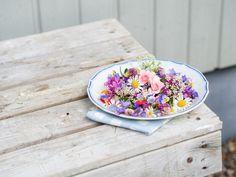 Syötävät kukat kakkujen koristelussa | Annin Uunissa Vegan Recipes, Bloom, Baking, Tableware, Desserts, Drinks, Tailgate Desserts, Drinking, Dinnerware