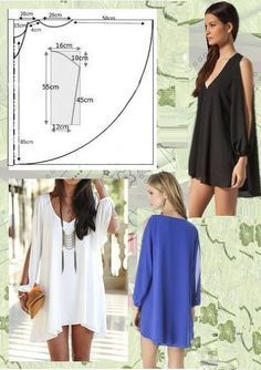 Super Sewing Blouse Easy Free Pattern Ideas - Super Sewing Blouse Easy Free Pattern Ideas, # Source by - Fashion Sewing, Diy Fashion, Ideias Fashion, Fashion Outfits, Dress Fashion, Dress Sewing Patterns, Clothing Patterns, Pattern Sewing, Blouse Pattern Free