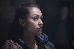 The 100 CW - E2x09 Remember Me 2015/01/21 - Lindsey Morgan - Raven Reyes #The100 be strong