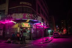 """wetheurban: """" Nightscapes, Elsa Bleda Based between the cities of Istanbul and Johannesburg, photographer Elsa Bleda has a unique aesthetic that is both cinematic and dystopian. In her latest work..."""