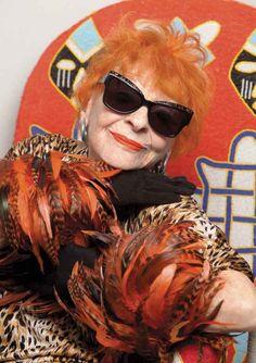 8068a33123 A Chat With Karen Walker s New Campaign Stars 91-Year-Old Ilona Royce  Smithkin and 65-Year-Old Linda Rodin. Cheap Ray Ban SunglassesWomen s ...