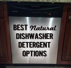 Best Natural Powdered Dishwasher Detergent Options - Tutto per l'igiene orale Homemade Dishwasher Detergent, Laundry Detergent Recipe, Dish Detergent, Dishwasher Tablets, Cleaning Recipes, Cleaning Hacks, Cleaning Crew, Organizing Tips, Hacks Diy