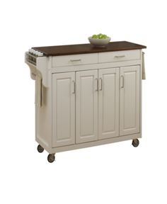 hardiman kitchen cart with wood top in 2019 new apartment rh pinterest com