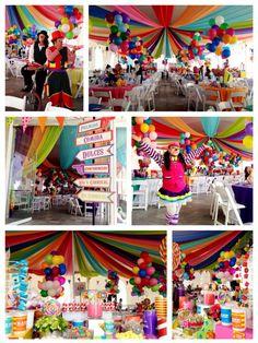 ¿Qué opinas de una temática de Carnaval o circo para una fiesta de 15? #FiestaTematicaDeQuince