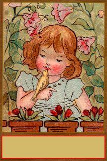 1880s French Prayer Card via Vintage Field & Garden