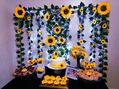 Best 12 12 Sunflowers wall decor What will it BEE baby girl nursery Sunflower Room, Sunflower Party, Sunflower Baby Showers, Sunflower Birthday Parties, 13th Birthday Parties, Sunflower Wedding Decorations, Birthday Decorations, Graduation Party Themes, Sweet 16 Parties