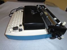 Vintage Sears Electric Typewriter by Montyhallsshowcase on Etsy